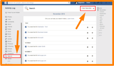 Clear Search History On Facebook – Teckimedia